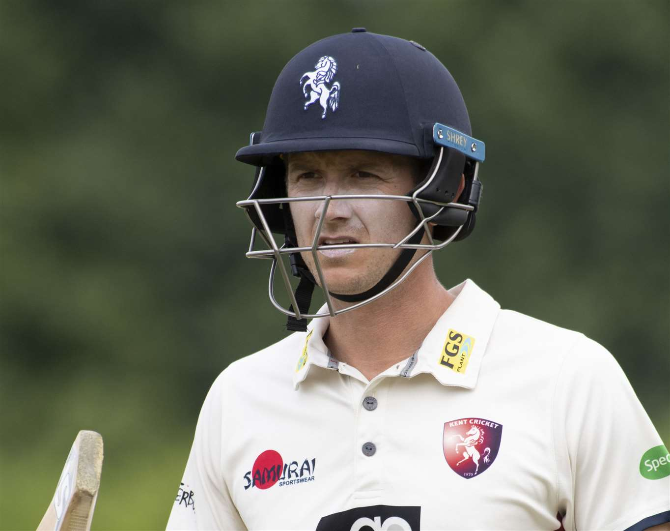 Joe Denly will be hoping to claim a place in the first Test against West Indies Picture: Andy Payton