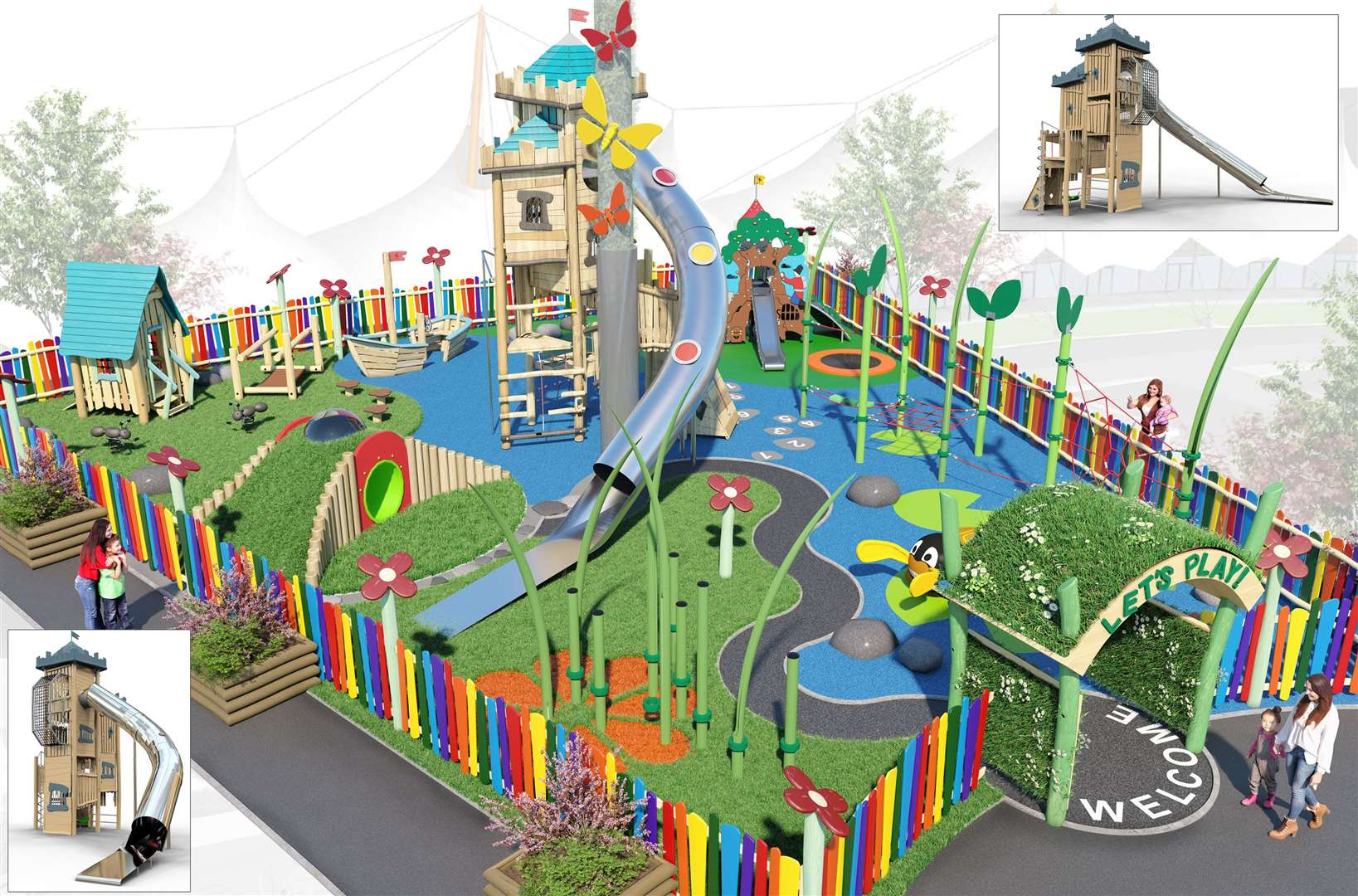 The new play area will open later this month
