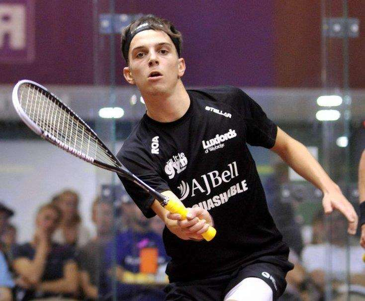 Top seed Charlie Lee has withdrawn from the Colin Payne Kent Open Picture: Unsquashable