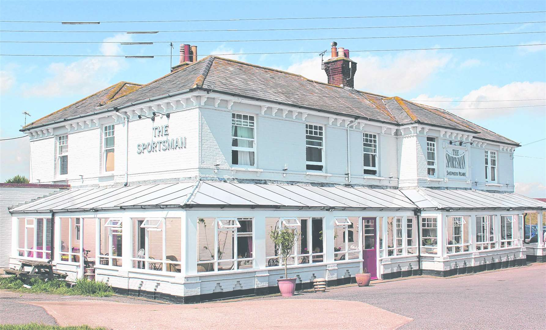 The Sportsman in Whitstable