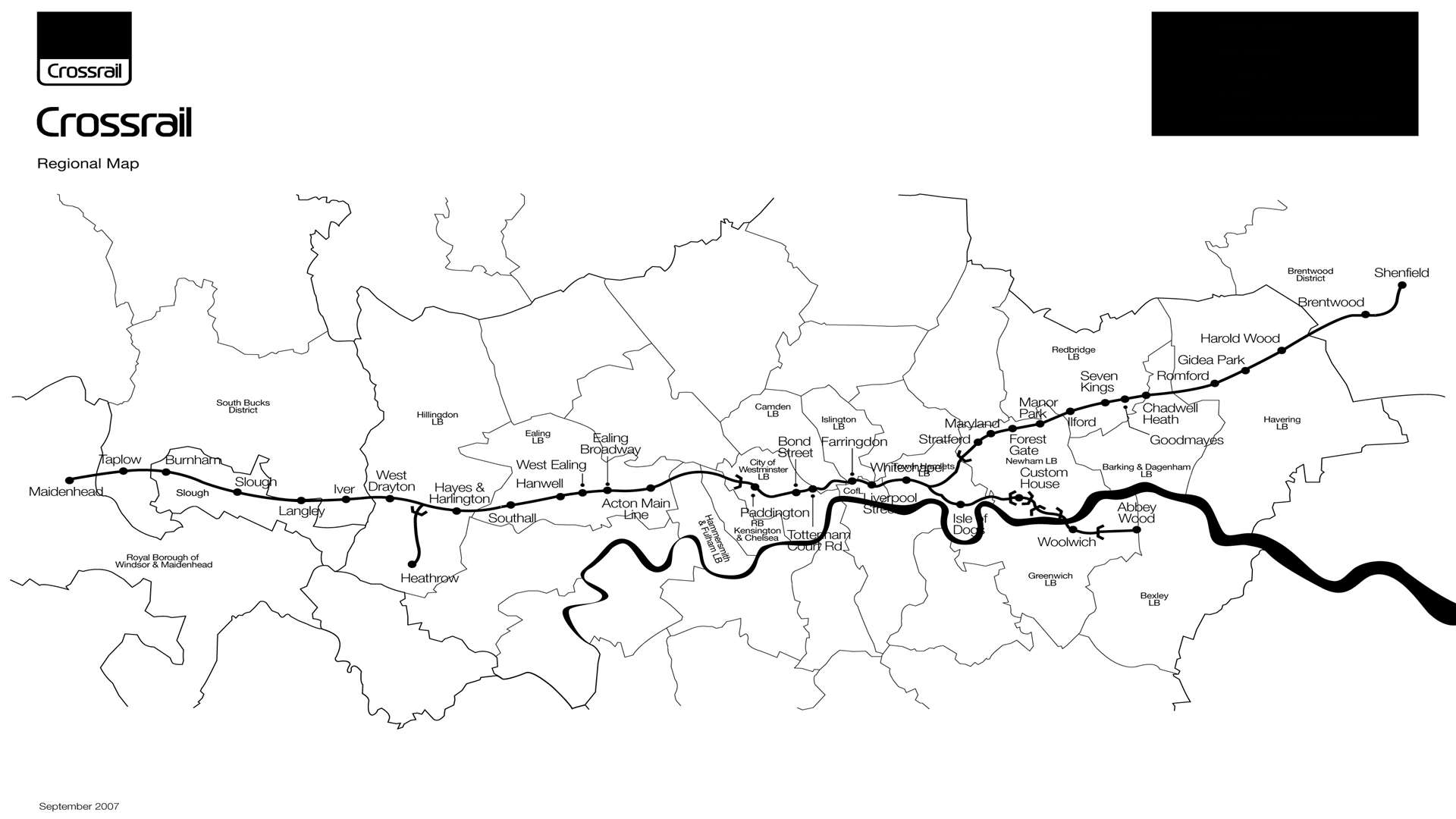 Crossrail is currently only due to reach Abbey Wood