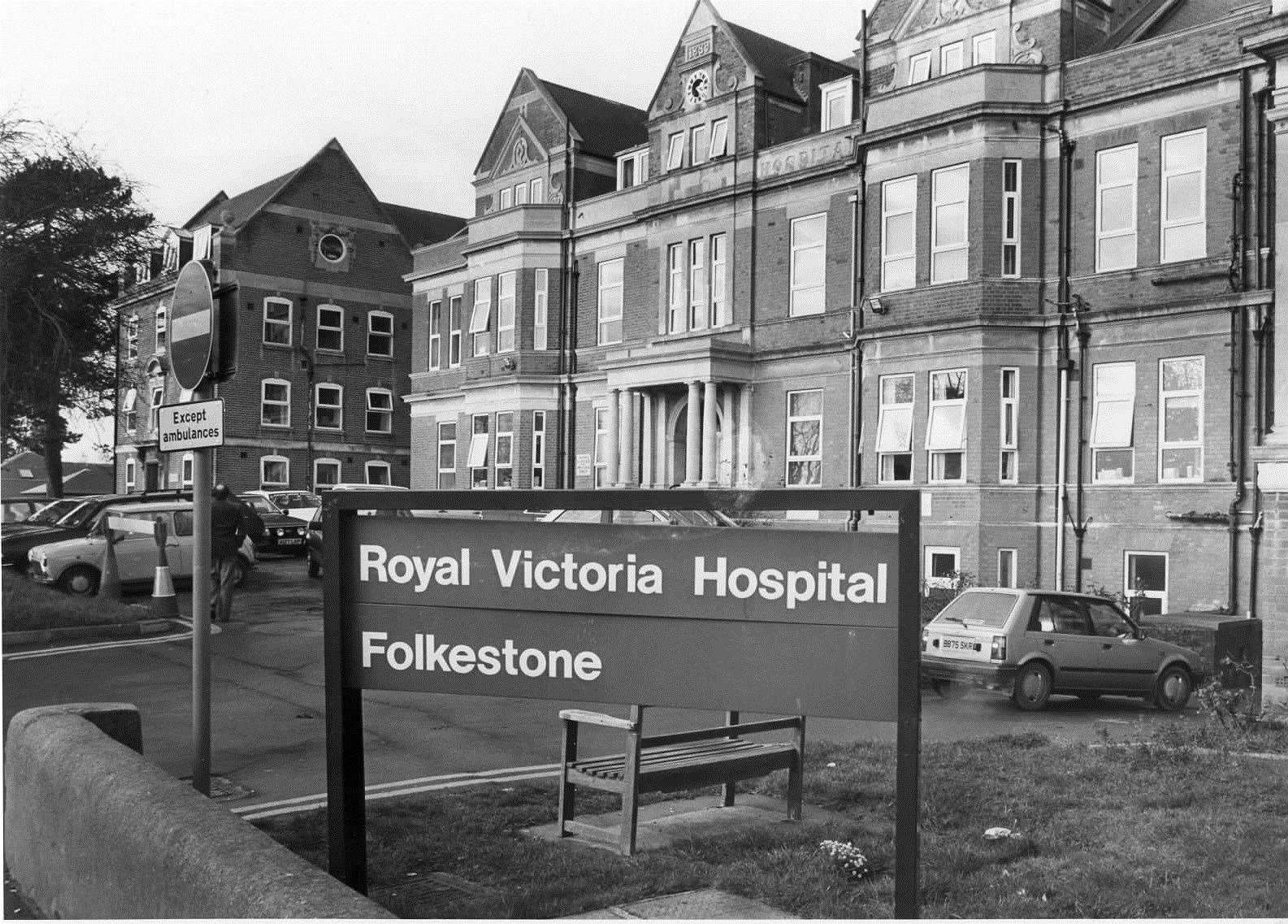 Royal Victoria Hospital pictured in 1990