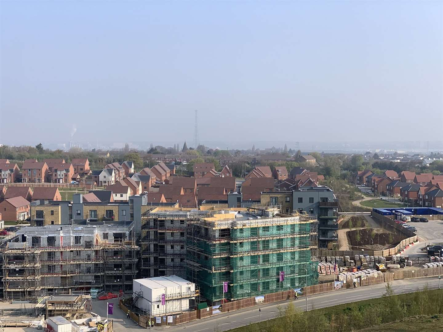 Construction work on Ebbsfleet Garden City (13834591)