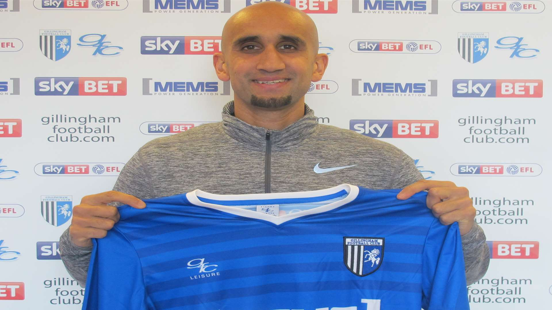 New signing Zesh Rehman Picture: Gillingham FC