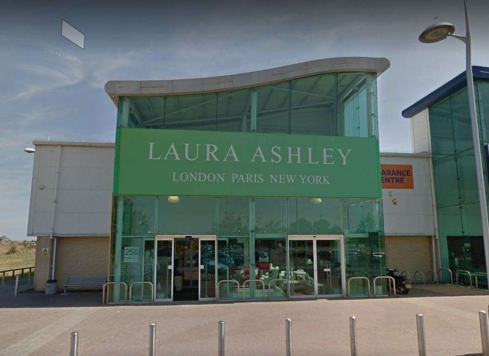 The Laura Ashleys store in Broadstairs