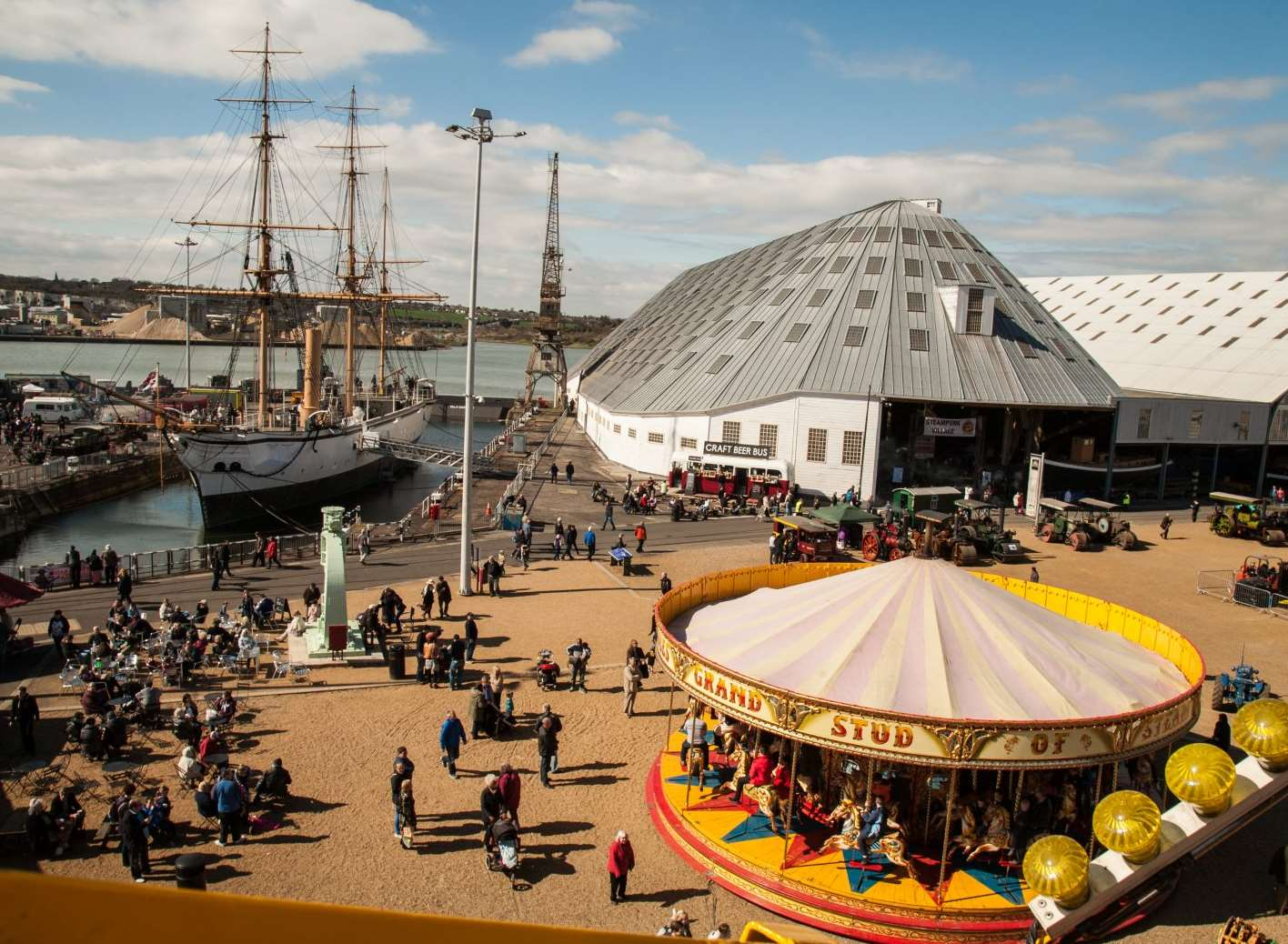 Easter family fun at Historic Dockyard Chatham: Festival ...