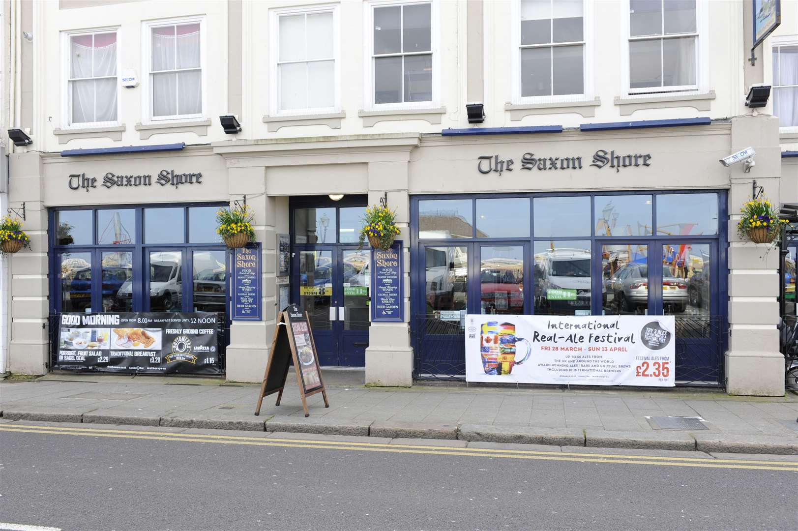 JD Wetherspoon opened The Saxon Shore in Herne Bay in 1999