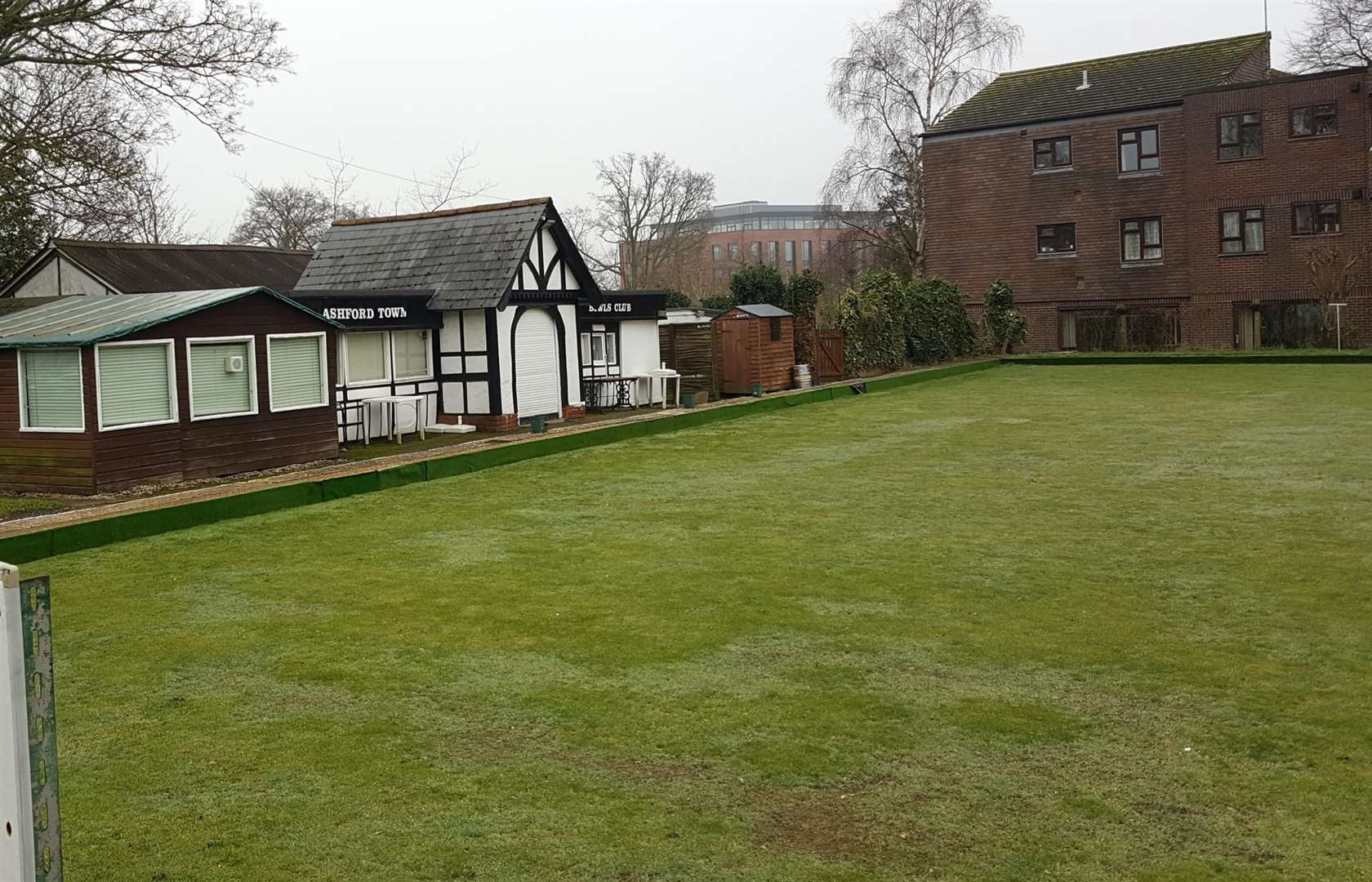 The planning application provides a new home for Ashford Town Bowls Club