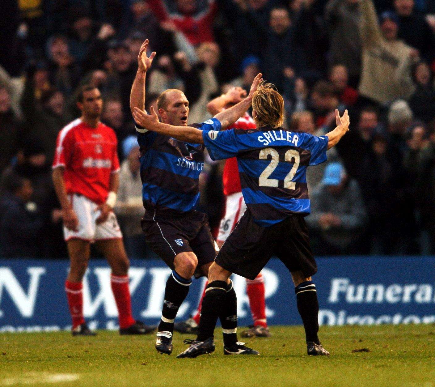 Gillingham knock-out Premiership Charlton in a 3-2 FA Cup victory in 2004