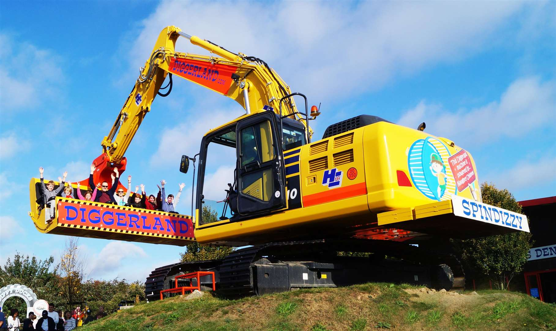 Head to Diggerland in Strood this summer