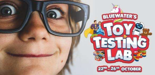 Bluewater opens a Testing Lab for half term