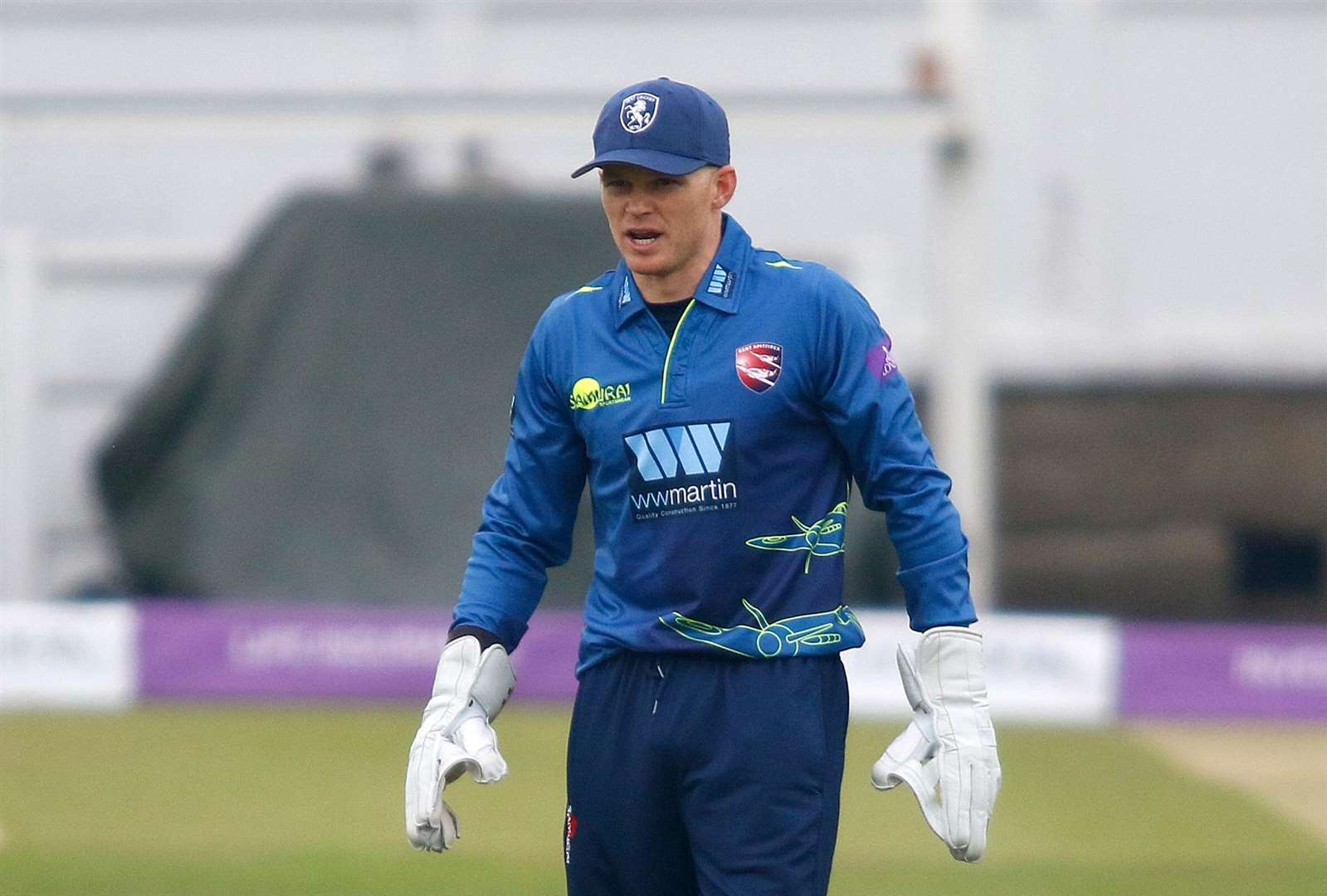 Sam Billings. Picture: Andy Jones.