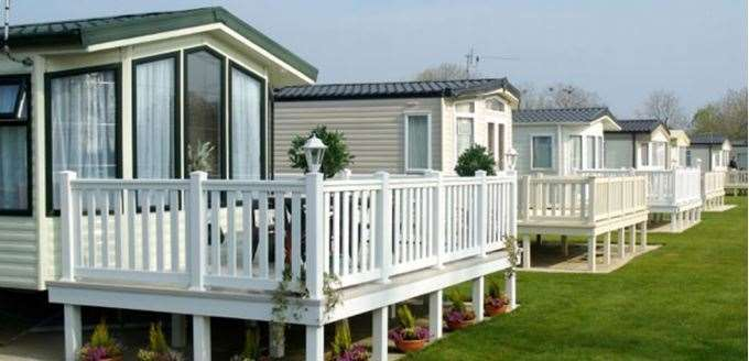 The extra 91 caravans would be installed on land opposite Lucerne Drive. Picture: Park Holidays