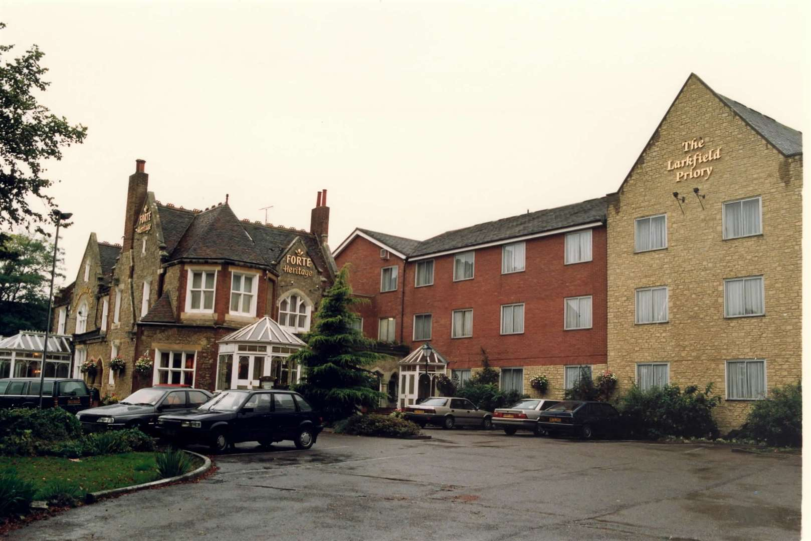 The Larkfield Priory, in London Road, Larkfield