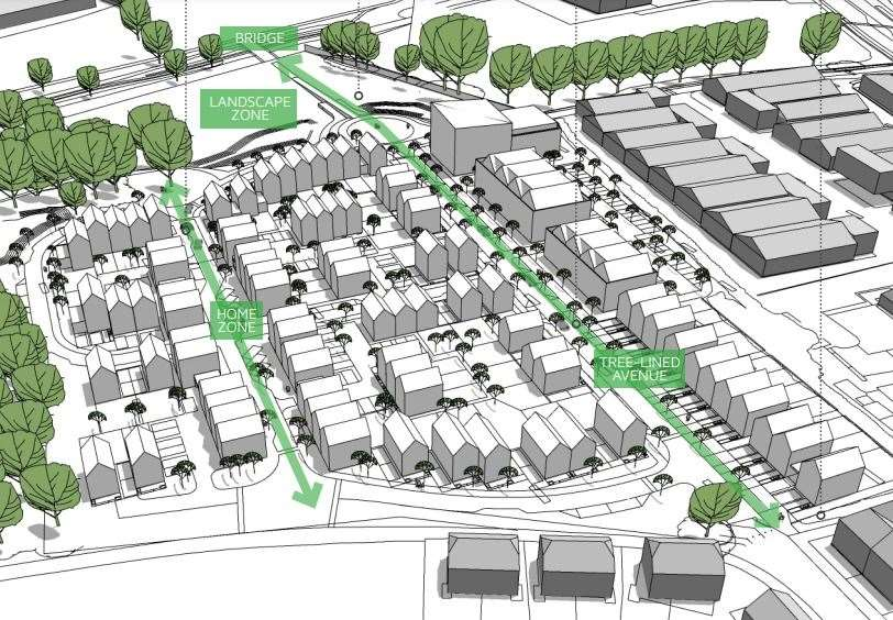 How the 'Invicta Park' scheme could look