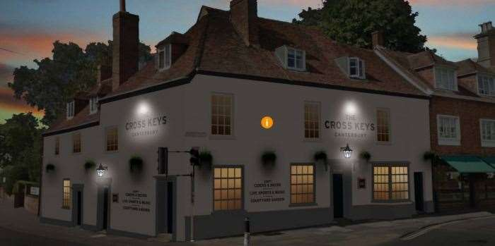 How the Cross Keys could look after refurbishment