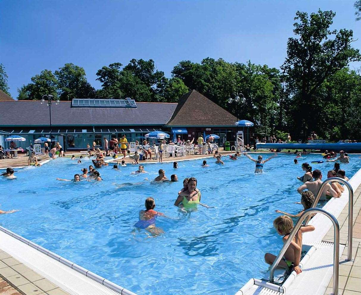 3e9582c0395 Kent s outdoor swimming pools open this summer