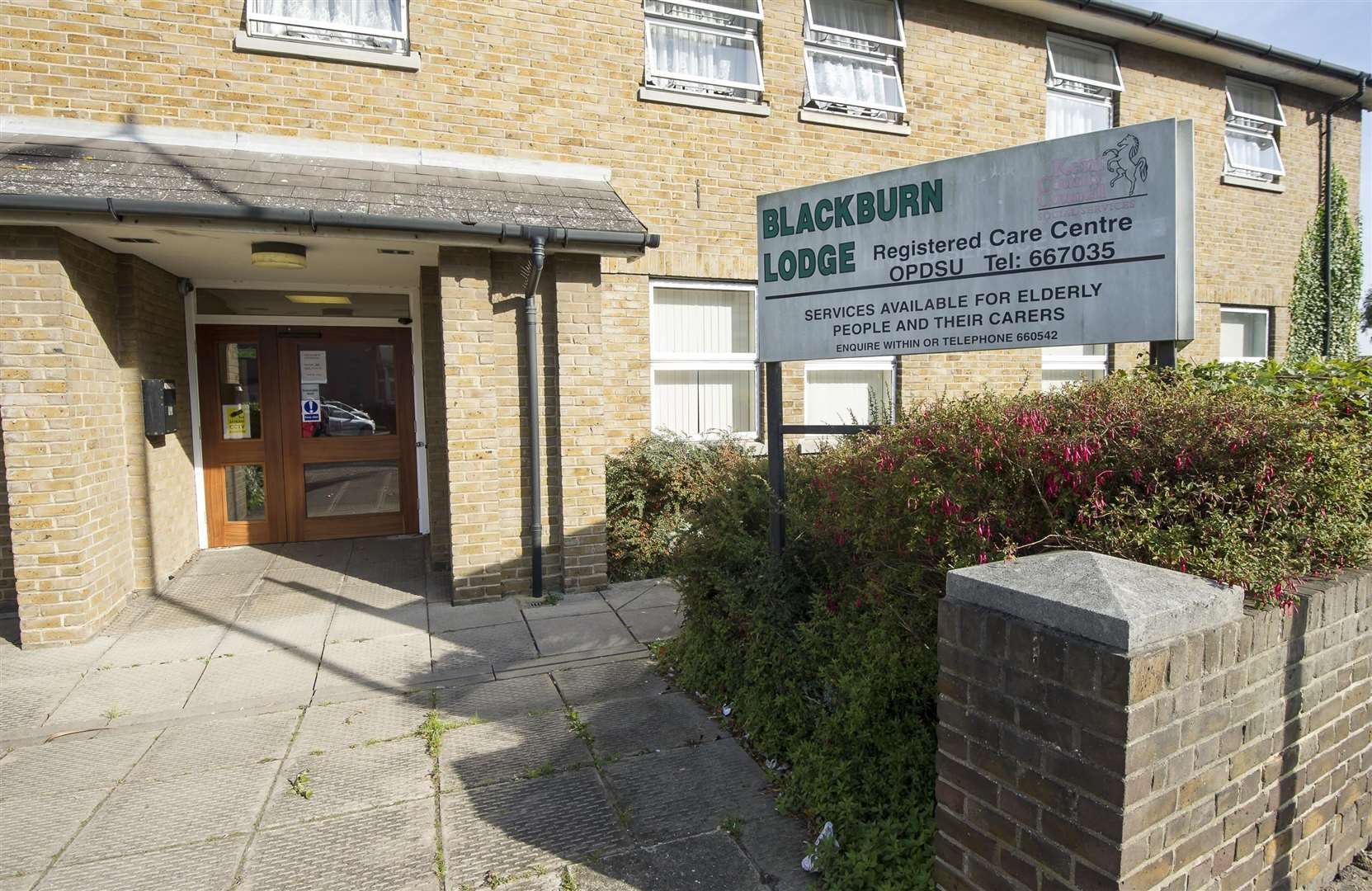 Blackburn Lodge in Broadway, Sheerness, has been threatened with closure