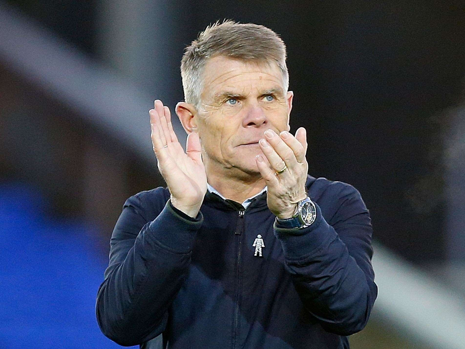 Dover manager Andy Hessenthaler. Picture: Andy Jones