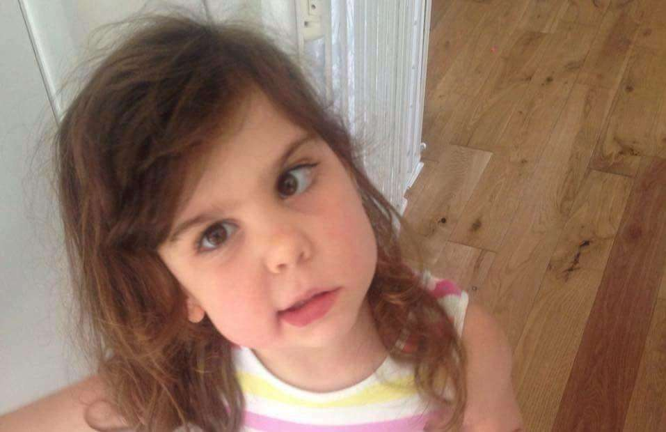 Eva Giles died from an aggressive brain tumour aged just five.