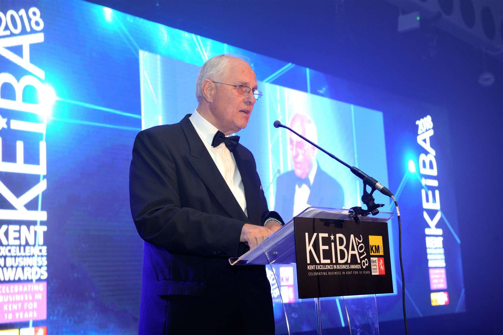 Chairman of the KEiBA judging panel Geoff Miles