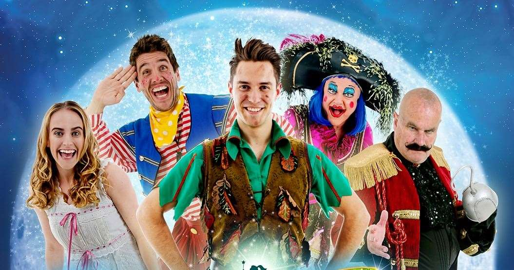 Peter Pan at the EM Forster Theatre, Tonbridge
