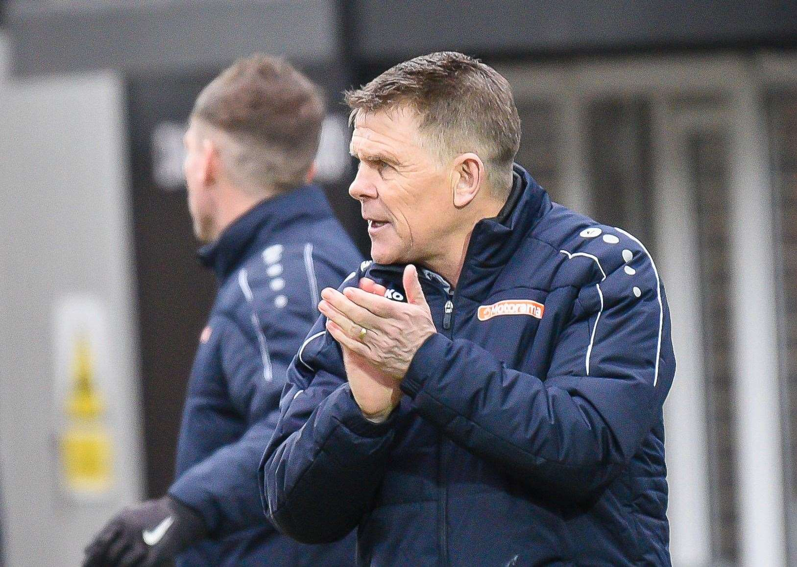 Andy Hessenthaler's Dover Athletic finished the 2019/20 season sitting mid-table Picture: Alan Langley