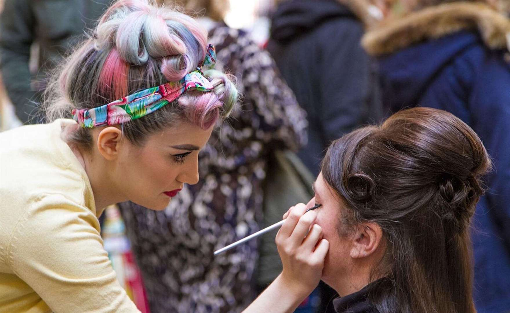Vintage-inspired makeovers will be available at Lou Lou's Vintage Fair