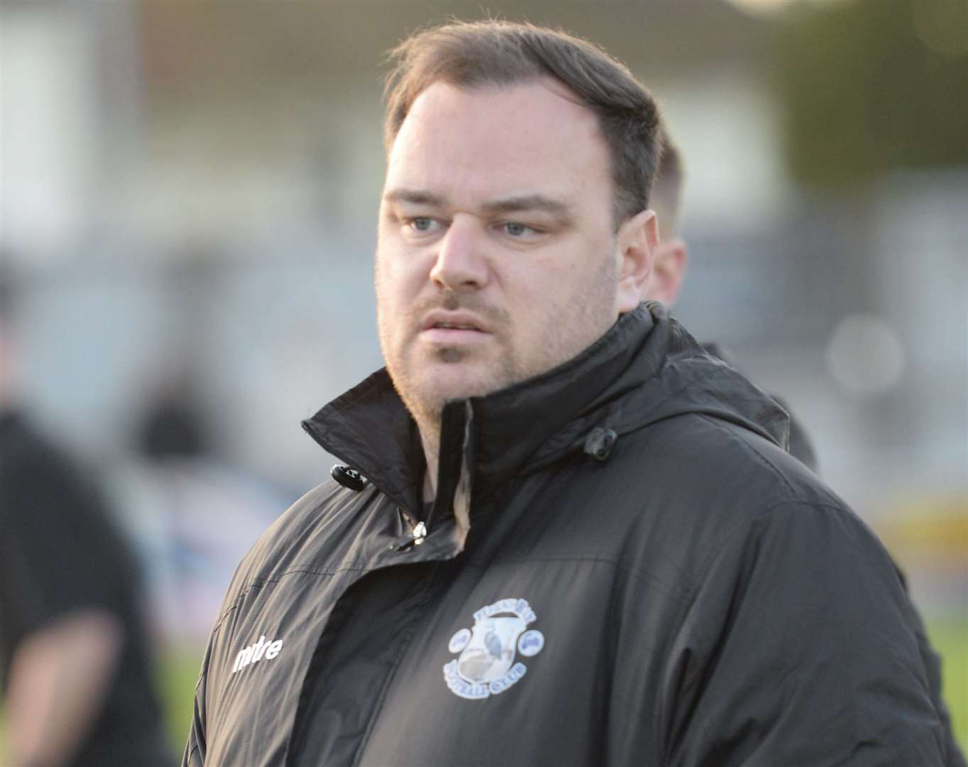 Herne Bay manager Ben Smith. Picture: Chris Davey