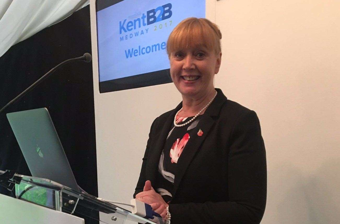 Jo James, CEO of Kent Invicta Chamber of Commerce, backs the call