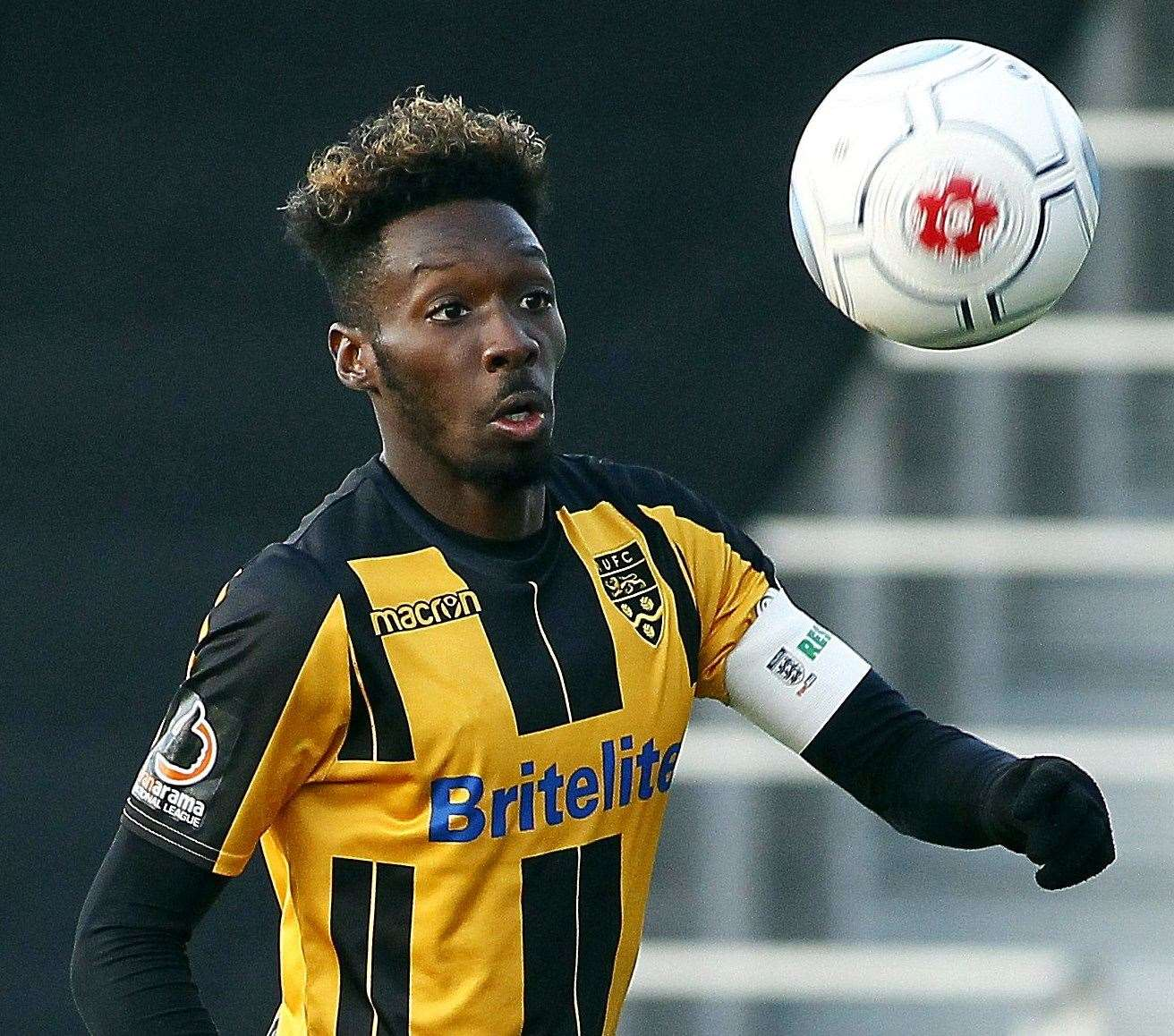 Ex-Maidstone skipper Blair Turgott joined Ostersunds last month Picture: Sean Aidan