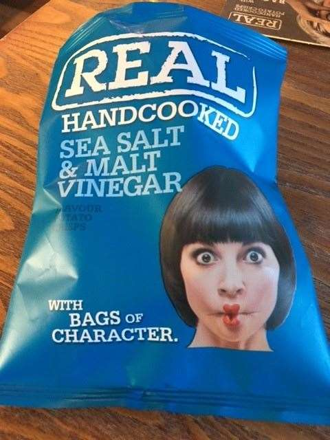 The only food available was crisps, but given the quality of the food it served, this is another big step in the right direction.