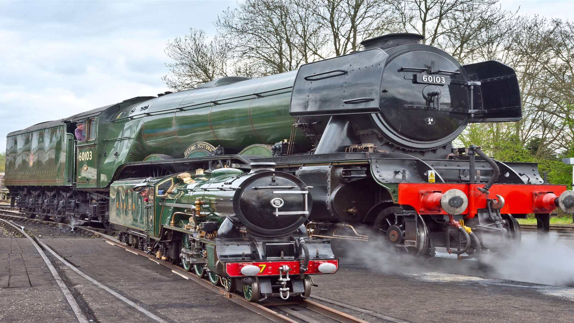 Flying Scotsman And Romney Hythe And Dymchurch Railway S