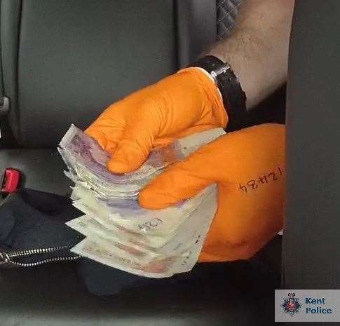 Cash was seized by officers (12730731)