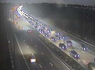 A2 crash near Bean. Picture: Highways England