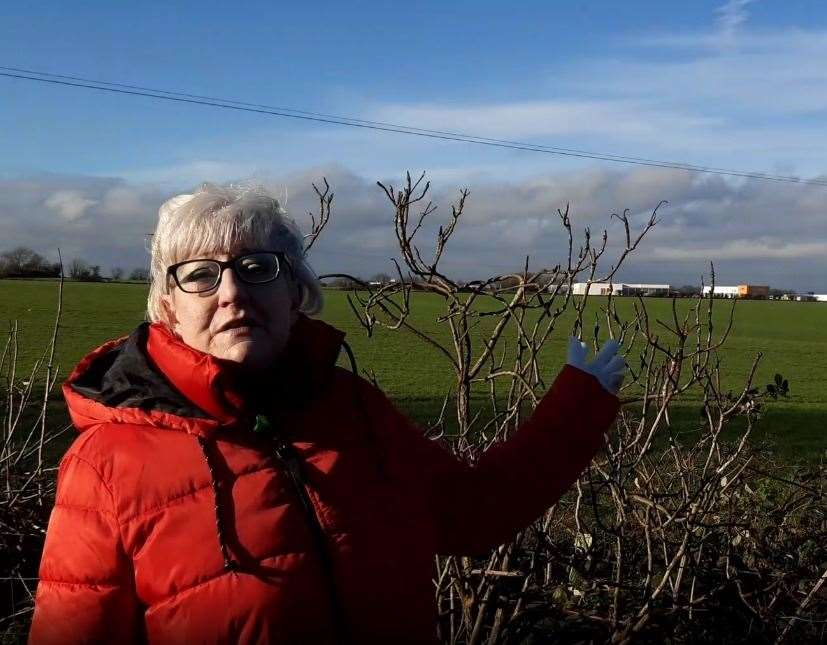 Jane Dunford thinks a buffer zone of at lease 75m of conservation land should be preserved