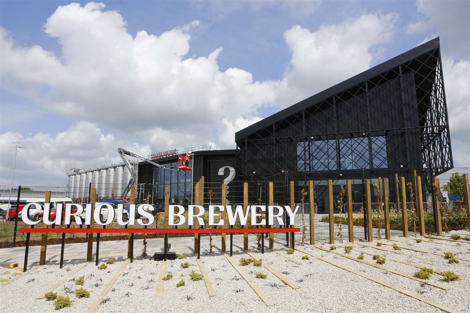 The new Curious brewery in Ashford Picture: Andy Jones