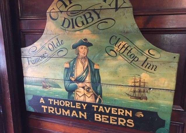 Captain Digby is proud to celebrate its clifftop history