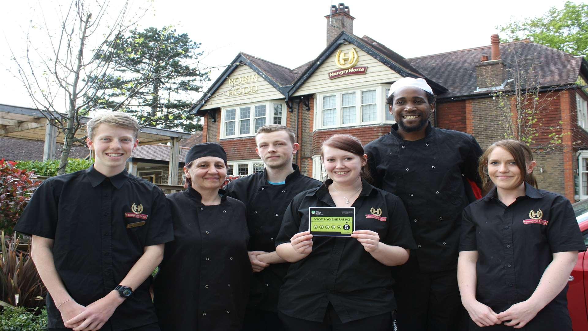 Tunbridge Wells pub The Robin Hood in Sandhurst Road given