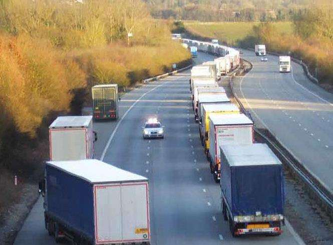 Operation Stack could happen again after the UK leaves the EU