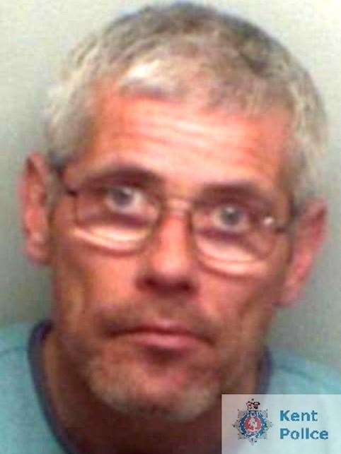 Tony Ellis refused to go to court, but was jailed in his absence. Picture: Kent Police