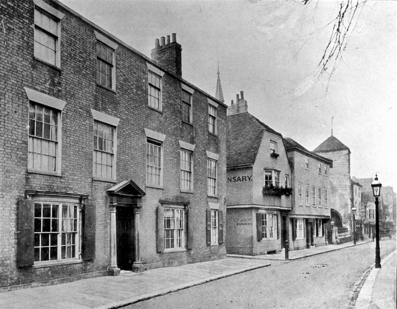 "61 Burgate Street, Canterbury, the house where the author of the ""Ingoldsby Legends"" was born"