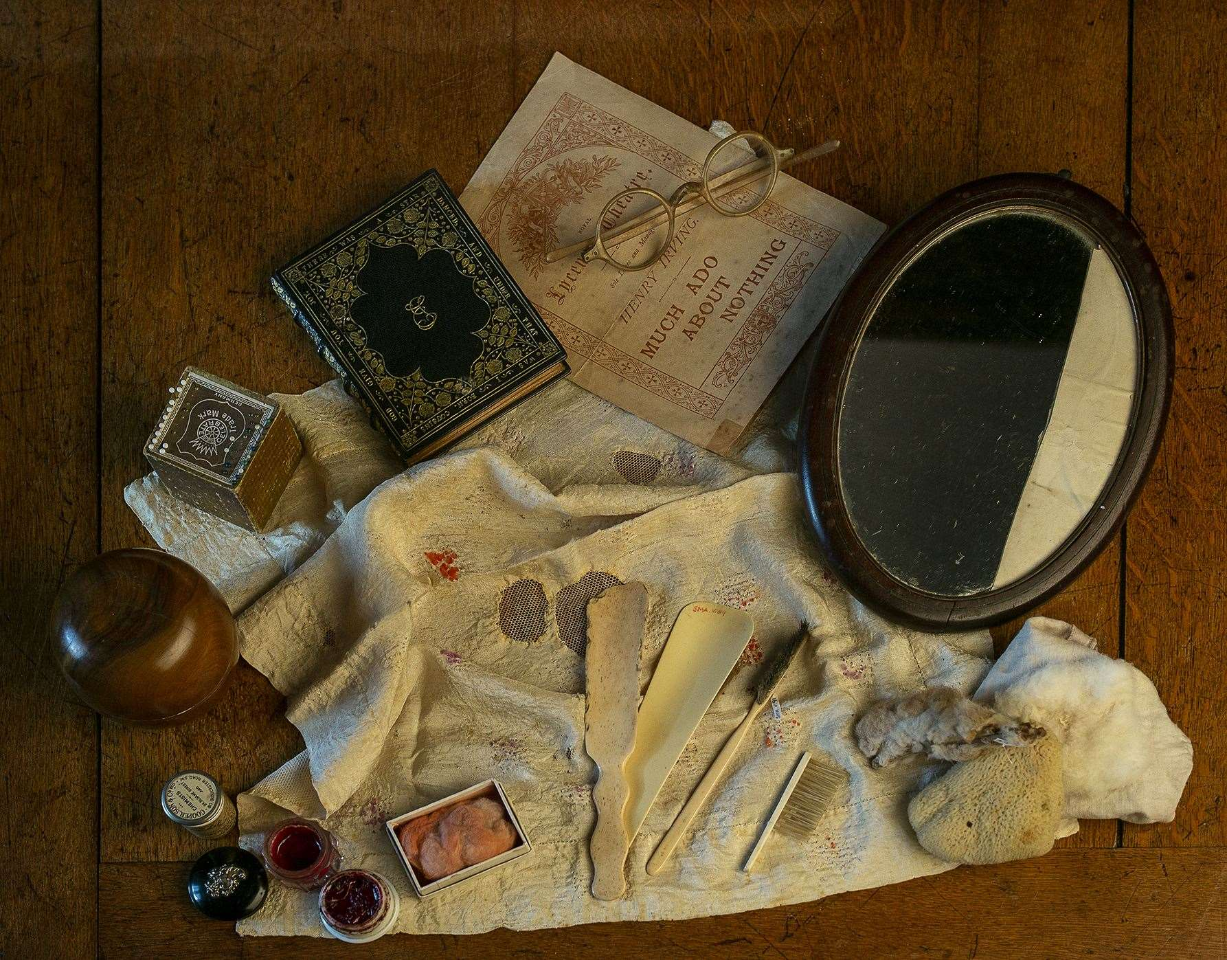 Items belonging to Ellen Terry Picture: National Trust/David Brunetti