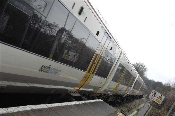 Kent Passengers Are Delayed As Trains Stop After The Trains Are