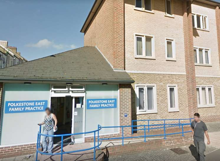 The Folkestone East Family Practice is shutting. Picture: Google
