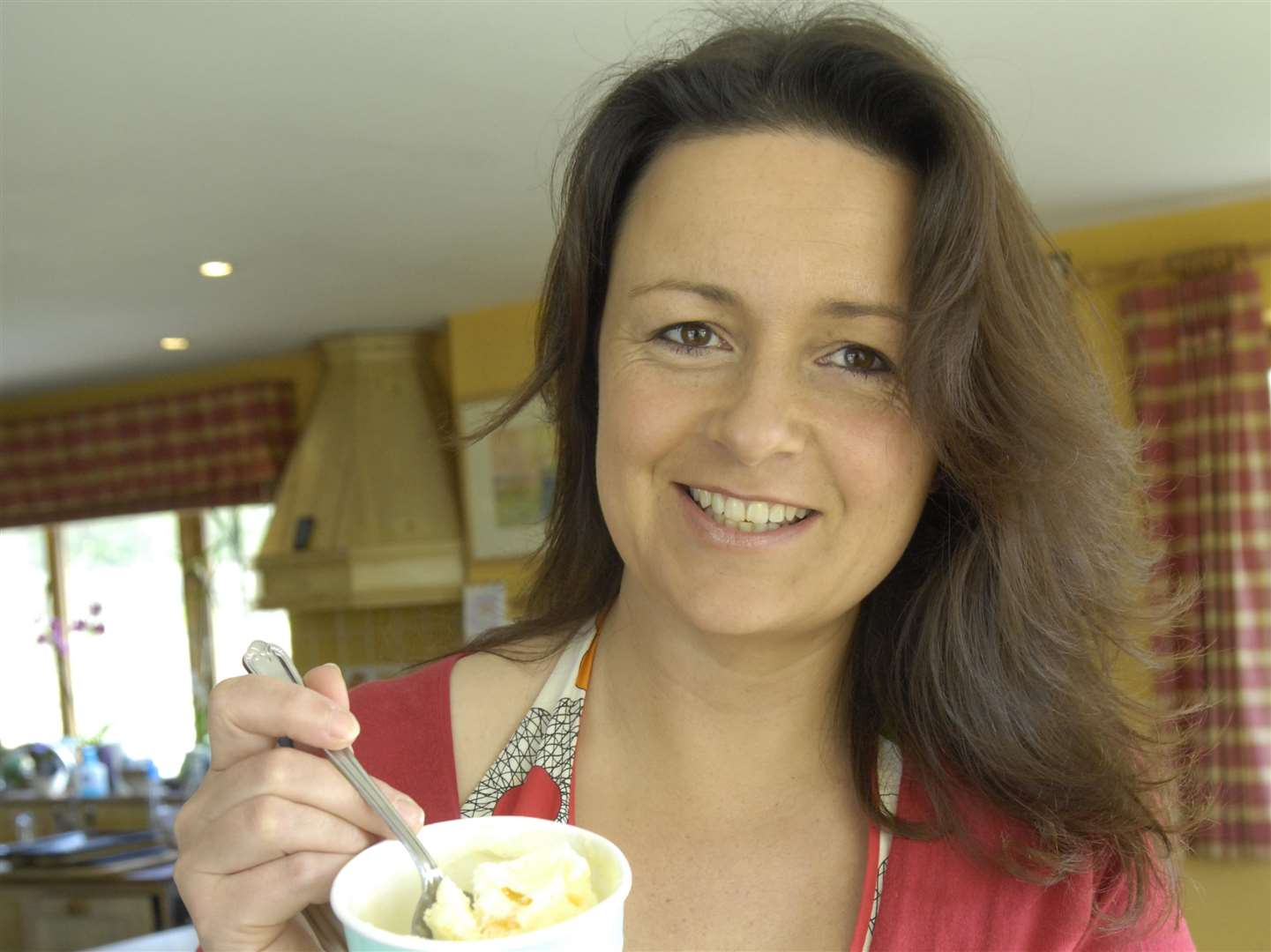 Sally Newall founded Simply Ice Cream in Bonnington