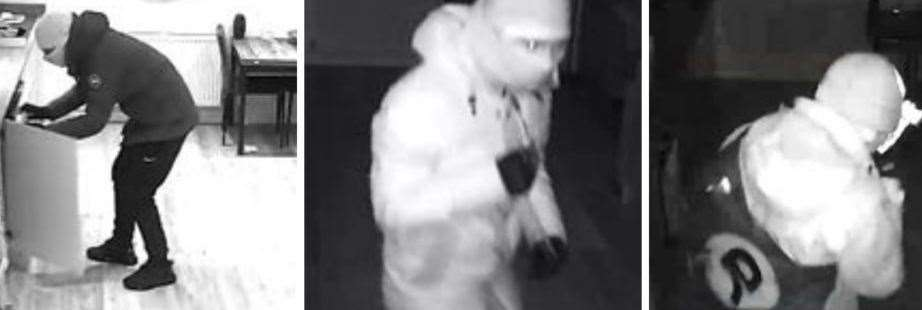 Detectives would like to speak to these two men about burglaries in Sevenoaks