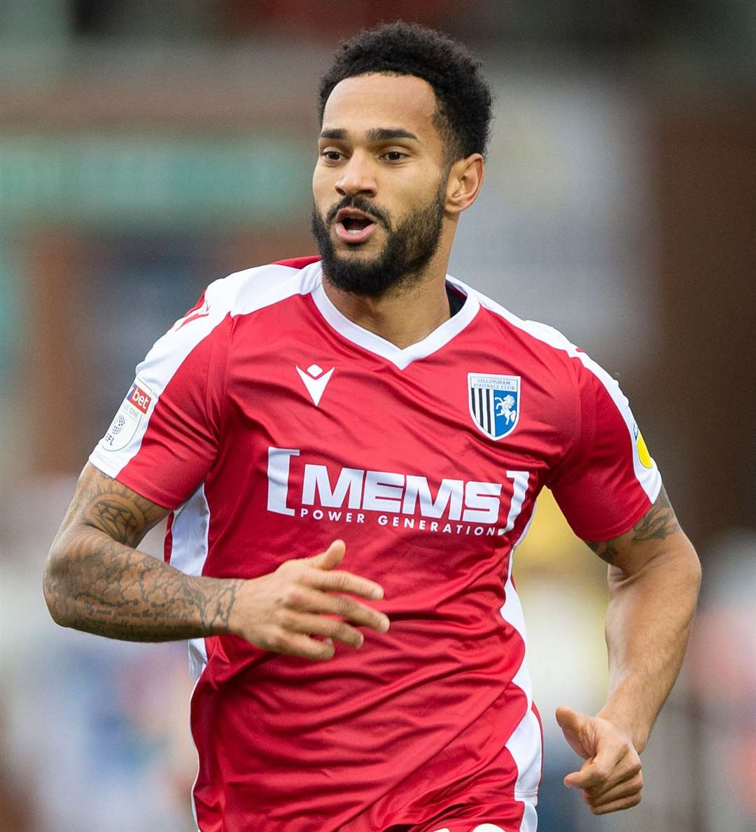 Jordan Roberts added quality to Gills' attack at Peterborough Picture: Ady Kerry