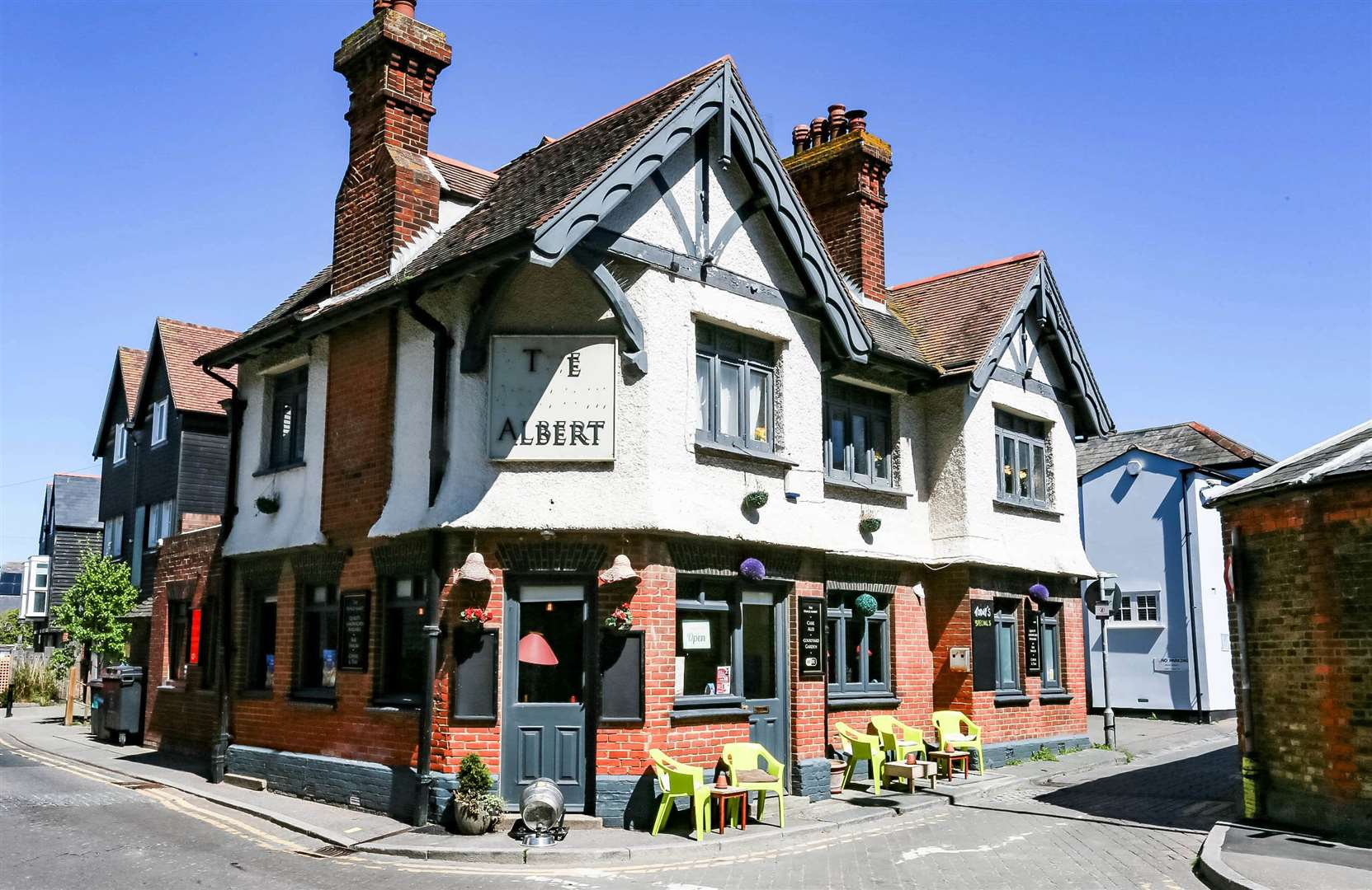 The Prince Albert in Whitstable. Pic: Star Pubs & Bars