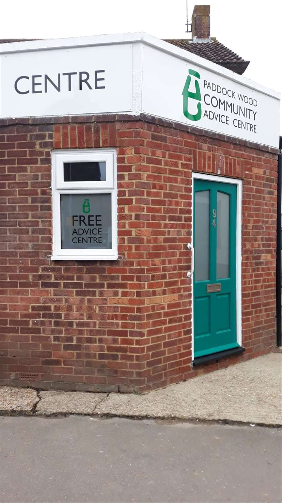 The new Paddock Wood Community Advice Centre in Commercial Road